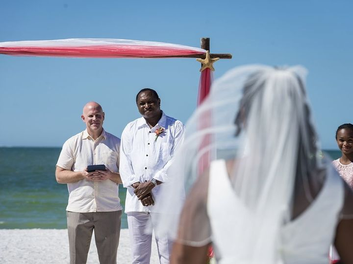 Tmx 1515900299 A5e6b88d954741b0 1515900297 7133c4393b857fa4 1515900297780 6 Anica And Arnold A Tampa, Florida wedding officiant