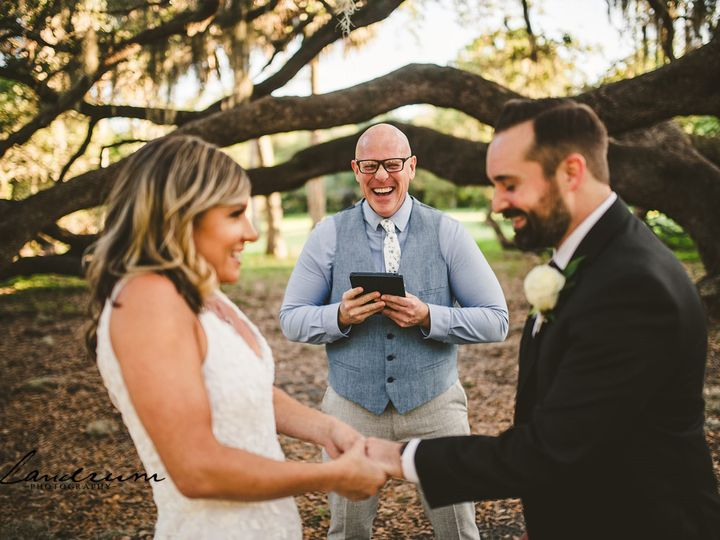 Tmx Michael And Erin Funny Phillippe Park Florida Elopement 50 Websize 51 954709 160264827817767 Tampa, Florida wedding officiant