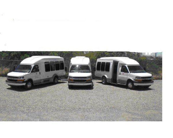 14-passenger TeraTransit Bus