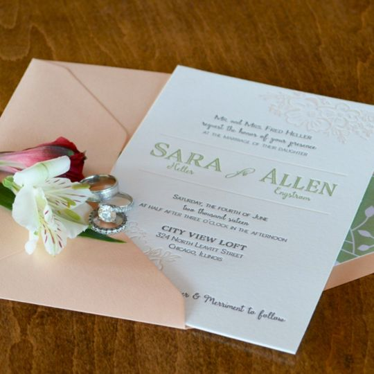 lucky invitations invitations round lake il weddingwire