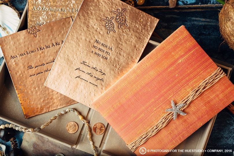 Copper Invitation