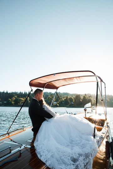 After-wedding private cruise