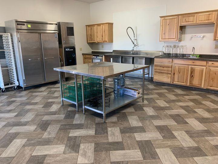 Fully serviced kitchen