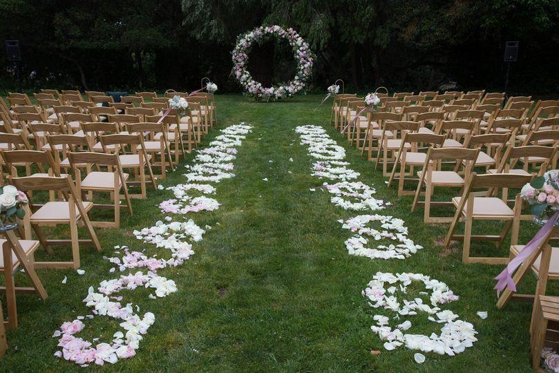 Wedding Ceremony Kohl Mansion