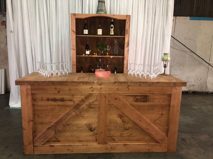 Tmx Tekila 8ft Bar 51 1046709 Redwood City, CA wedding rental