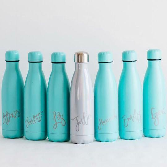Customized bottles