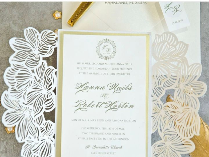Tmx 582 51 1056709 1557336961 Freehold, NJ wedding invitation