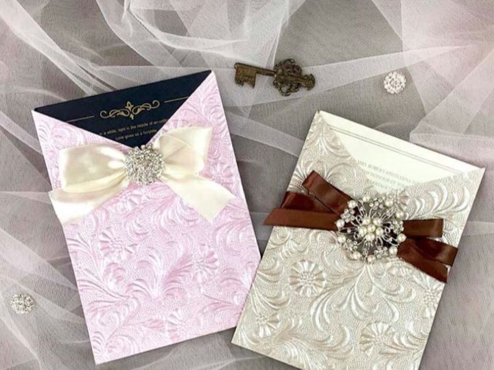 Tmx 586 51 1056709 1557336967 Freehold, NJ wedding invitation