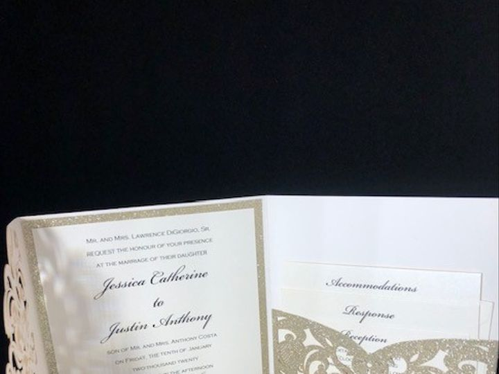 Tmx Eb11 51 1056709 158904408145470 Freehold, NJ wedding invitation