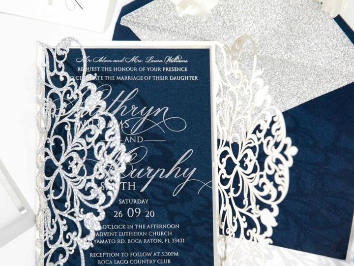 Tmx Thumbnail14 51 1056709 157910334511192 Freehold, NJ wedding invitation