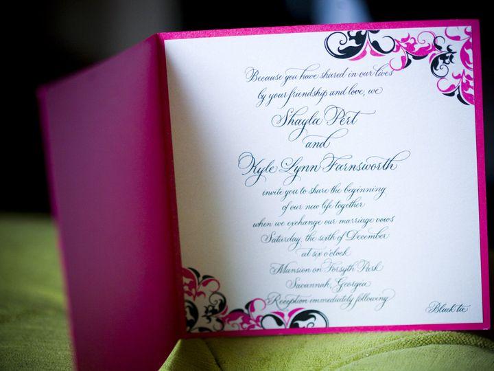 Tmx 1507308106715 Mmp Pert Invite Inside Winter Park, FL wedding invitation