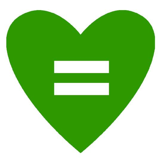 green heart equality