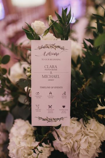 Program + Florals