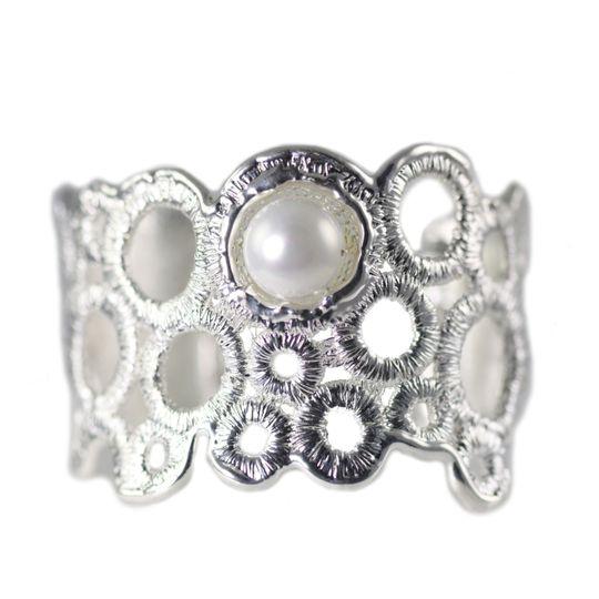 claudie cuff silver