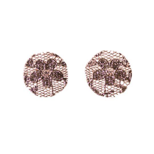 reva earrings rose