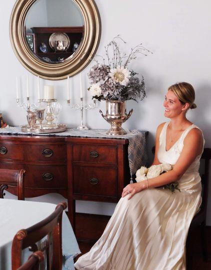 Bridal photoshooting