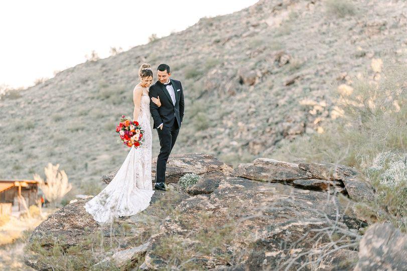 bride groom on mountain desert photo 51 20809 159512761842011