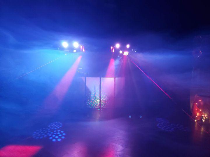 Lighting up your dance floor