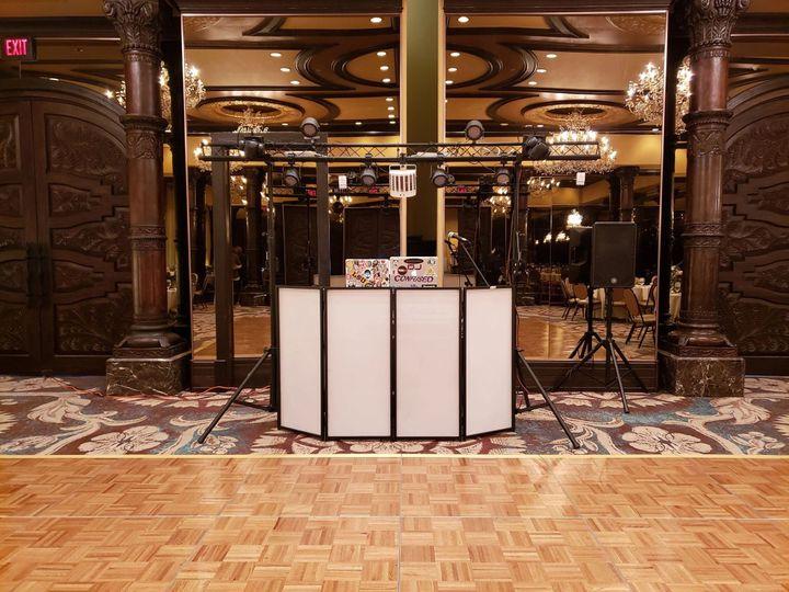 Cymatic DJ booth