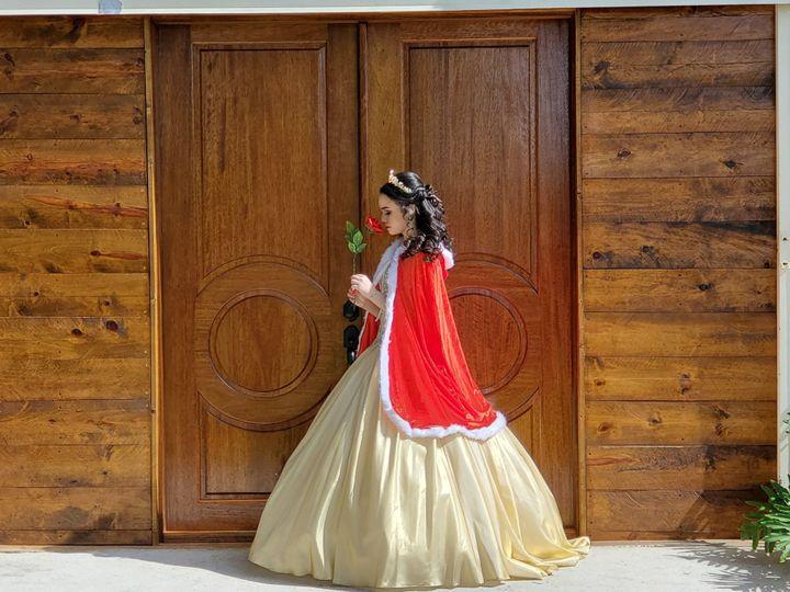 Elegant oak doors