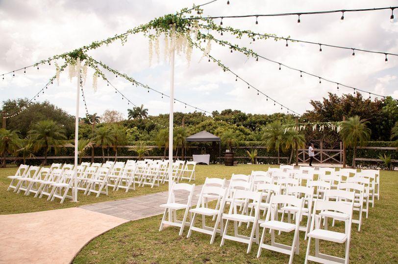 Beautiful Ceremony Seating