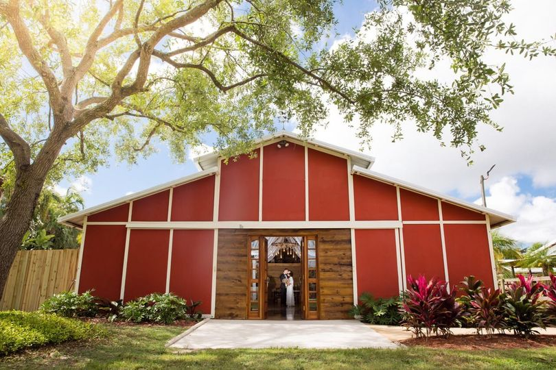Our air conditioned Red Barn !