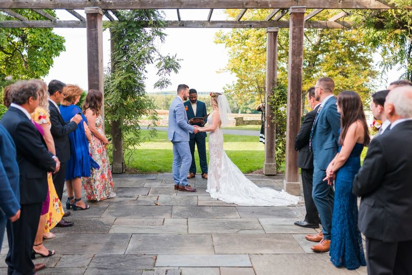 Married in the Courtyard