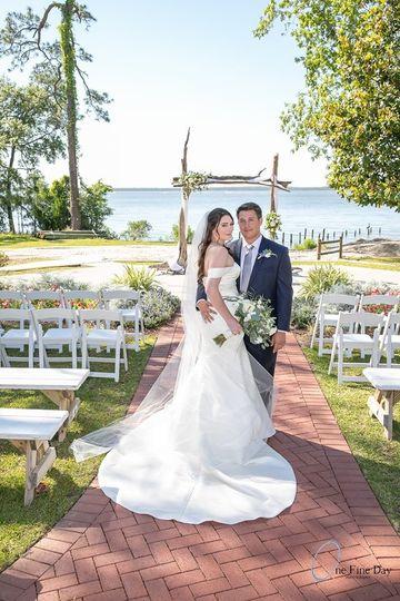 Coastal Art Wedding