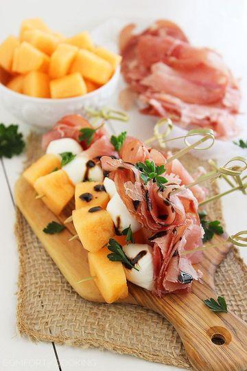 Melon + prosciutto
