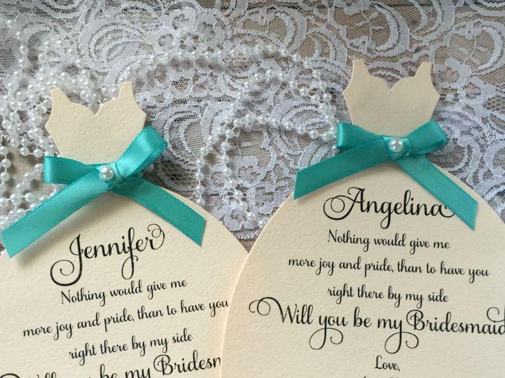 Tmx 1434393214920 Bridgesmaid Invite Dover wedding invitation