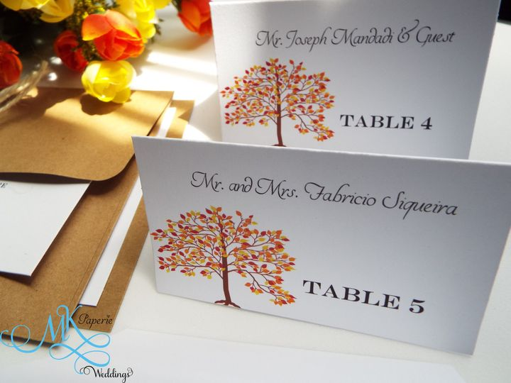 Tmx 1436416463712 Mk Paperie   Rustic Tree Place Card Dover wedding invitation