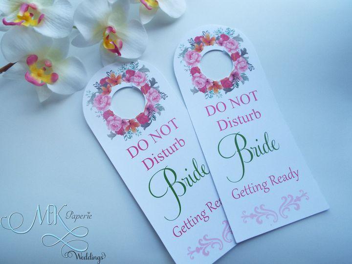 Tmx 1437716027208 Mk Paperie   Door Hanger   Flower Dover wedding invitation