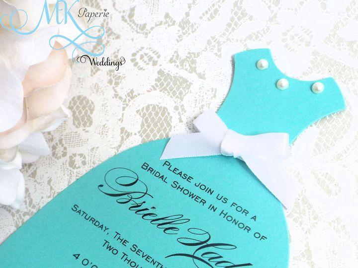 Tmx 1439431949828 Mk Paperie   Bridal Shower Tiffany2 Dover wedding invitation