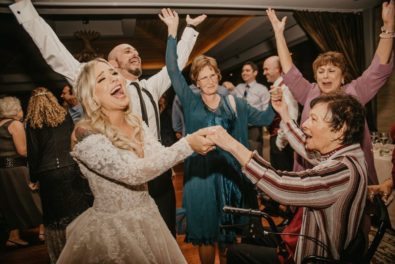 Happy brides are the best