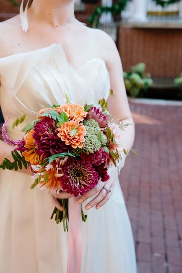 virginia field to vase florist wedding 7