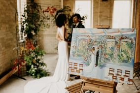 Live Wedding Painting | Fine Arts by Nicole