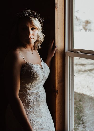 The beautiful bride (Erica and Dane)