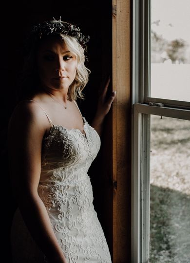 The beautiful bride (Erica and