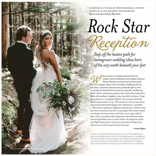 Feature High Country Weddings