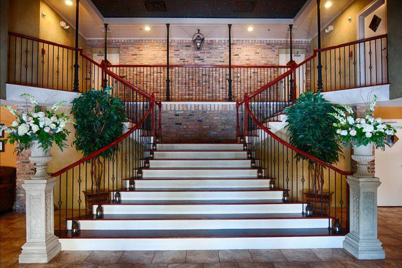 Grand Staircase in Foyer