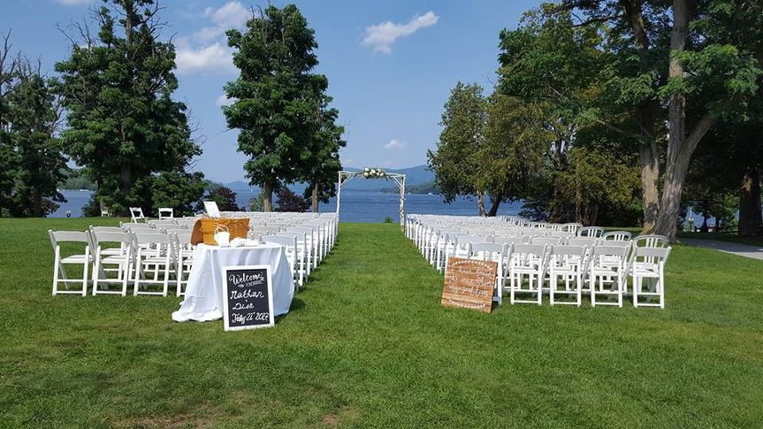 Ceremony on Lake George