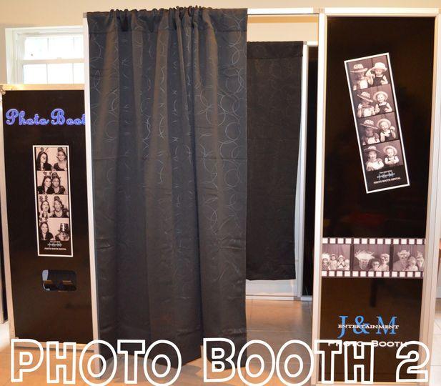 Wedding Photo Booth Rental: J & M Entertainment Photo Booth Rental