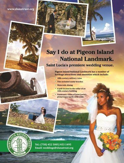 caribbean bride ad