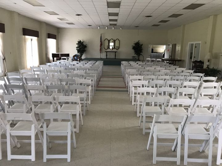 Set up inside
