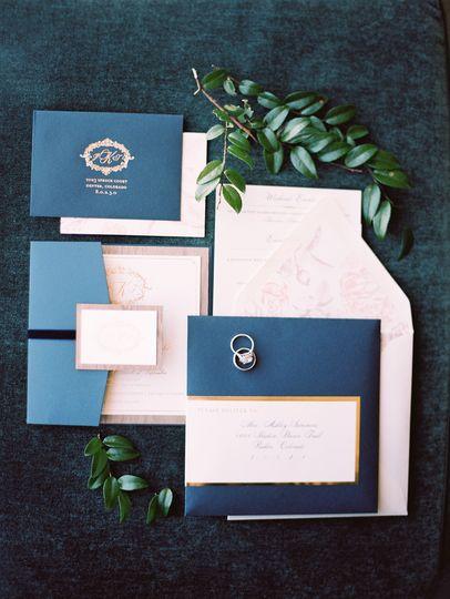 jillian tommy victorian pocket invitation
