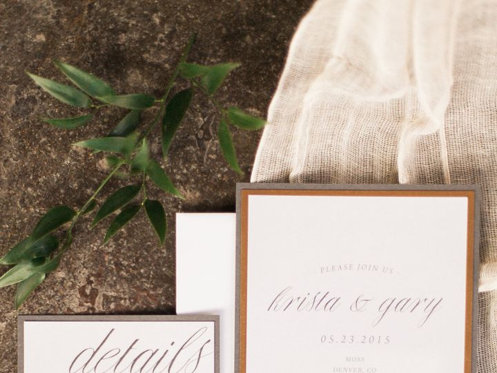 Tmx 1472142014607 Saralynnphotographicmossnewyearseve482 Littleton, CO wedding invitation