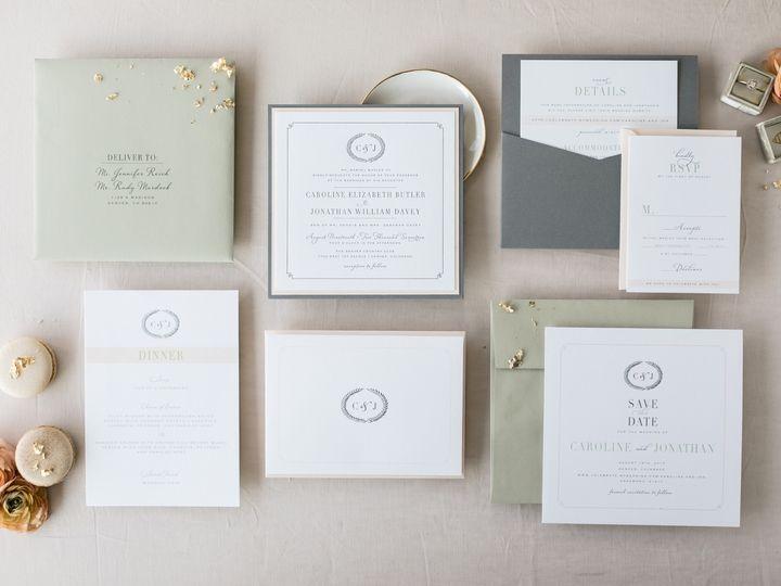 Tmx Caroline Jon 51 413909 1566405555 Littleton, CO wedding invitation