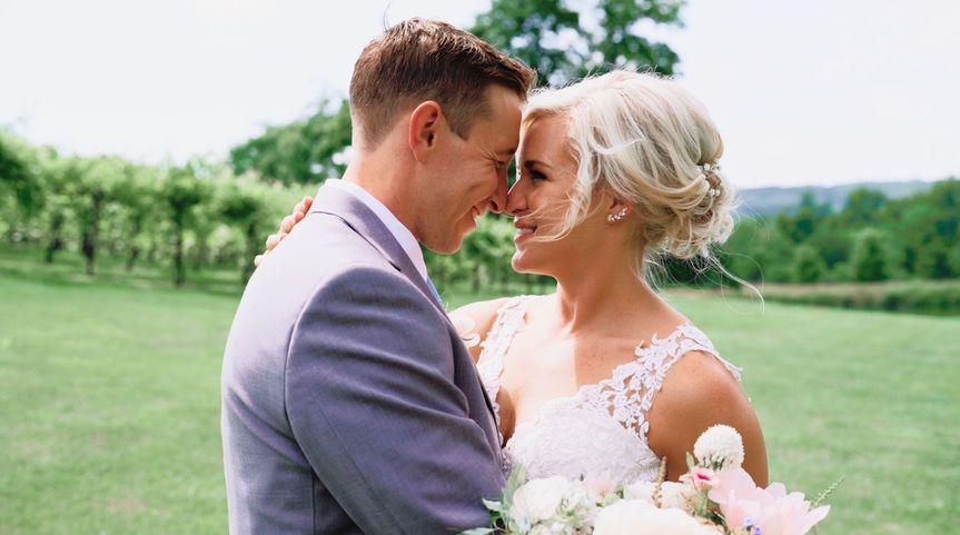 The happy couple Lauren Michele Productions