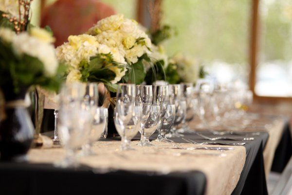 Head Table Set for Reception