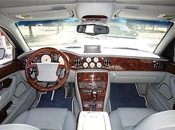 Inside the luxury Bentley